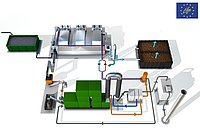 Systems Concept for On-Site Sludge Incineration